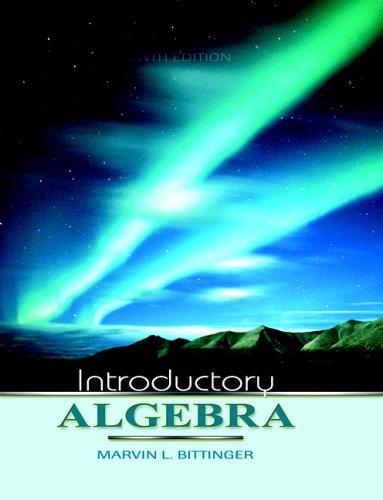 9780321269478: Introductory Algebra (Bittinger Developmental Mathematics Series)