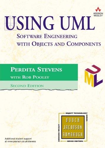 Using UML: Software Engineering with Objects and: Stevens, Perdita