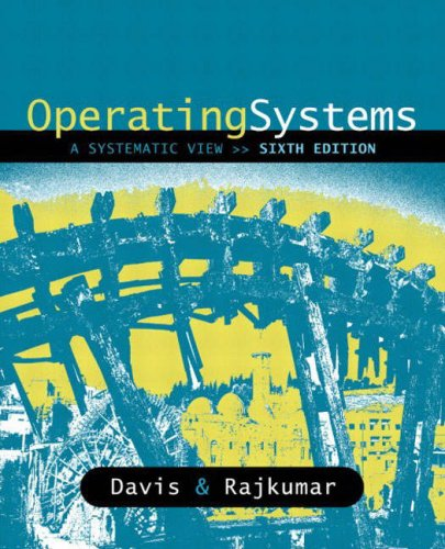 9780321269812: Operating Systems: A Systematic View