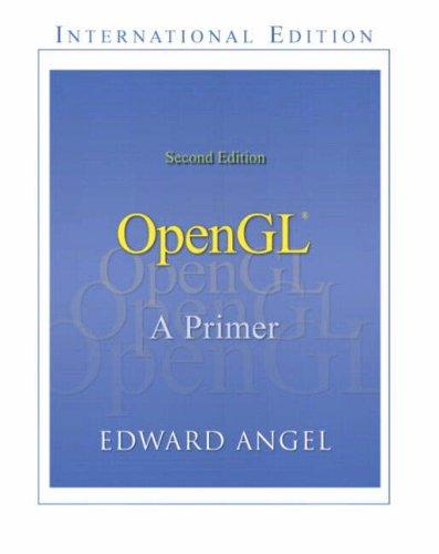 9780321269829: OpenGL: A Primer: International Edition