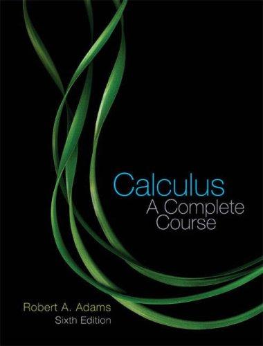 9780321270009: Calculus: A Complete Course
