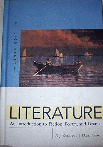 9780321272607: Literature: An Introduction To Fiction, Poetry, And Drama