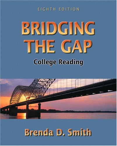 9780321273512: Bridging the Gap: College Reading (8th Edition)