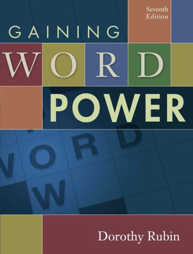 9780321273529: Gaining Word Power (7th Edition)