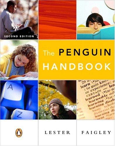 9780321273758: The Penguin Handbook (clothbound)