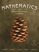 9780321275271: Mathematics for Elementary School Teachers