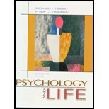 Psychology And Life: Gerrig, Richard J.;