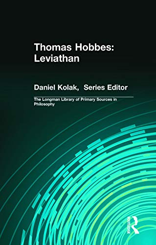 9780321276124: Thomas Hobbes: Leviathan (Longman Library of Primary Sources in Philosophy)