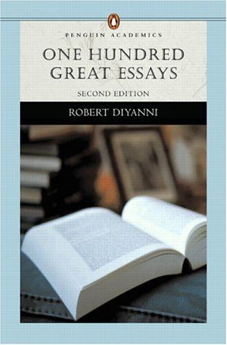 9780321276667: One Hundred Great Essays (Penguin Academics Series) (2nd Edition)