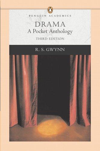 9780321277220: Drama: A Pocket Anthology (Penguin Academics Series)