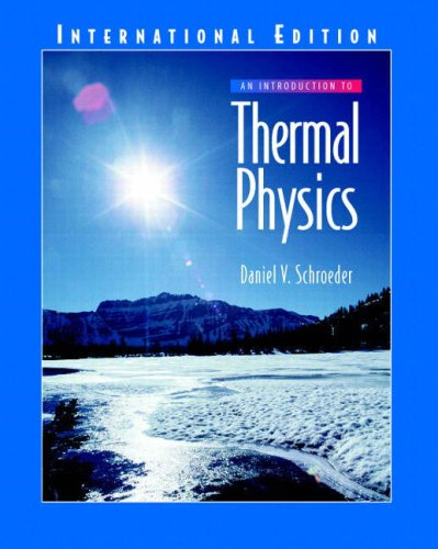 9780321277794: Introduction to Thermal Physics, An:International Edition