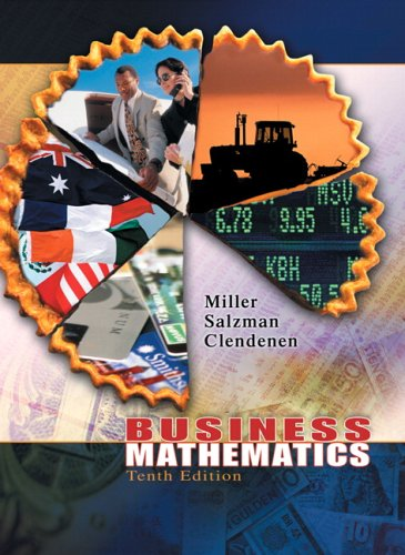 9780321277824: Business Mathematics (10th Edition)
