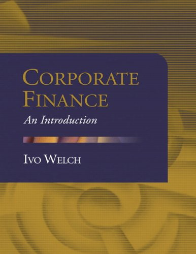 9780321277992: Corporate Finance: An Introduction (Pearson Custom Business Resources)