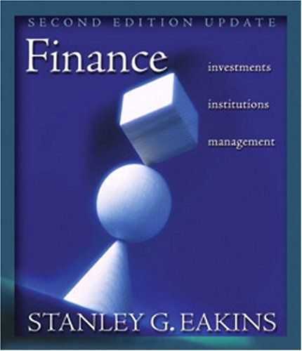 9780321278326: Finance: Investments, Institutions, and Management - Update (2nd Edition) (Addison-Wesley Series in Finance)
