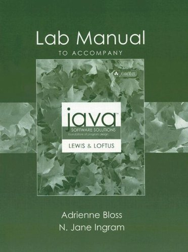 9780321278616 lab manual to accompany java software solutions rh abebooks co uk Lewis Labs Lecithin Imported Brewers Yeast Lewis Labs