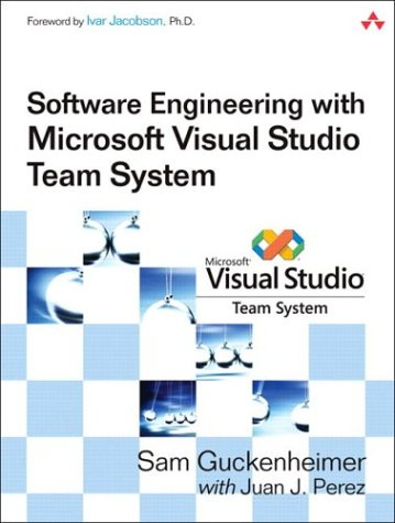 9780321278722: Software Engineering with Microsoft Visual Studio Team System