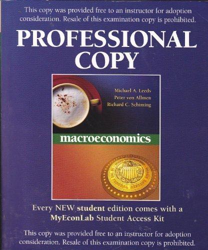 9780321278814: Macroeconomics