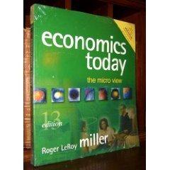 9780321278869: Economics Today: The Micro View, 13th Edition