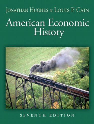 9780321278890: American Economic History (Addison-Wesley Series in Economics)