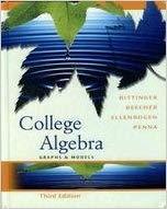 9780321279095: College Algebra: Graphs And Models