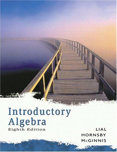 9780321279217: Introductory Algebra (Lial Developmental Mathematics Paperback)