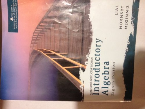 9780321285850: Introductory Algebra