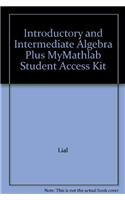 9780321286024 Introductory And Intermediate Algebra Plus Mymathlab