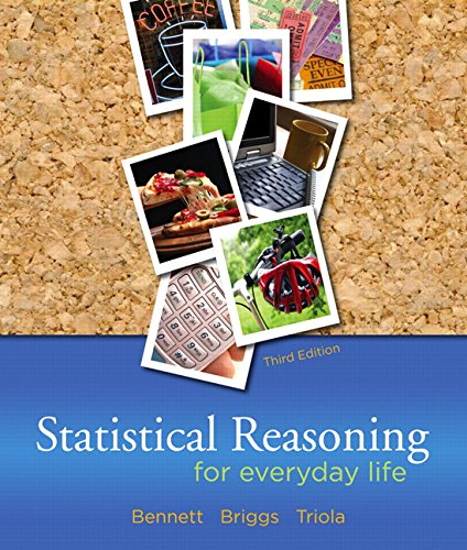 9780321286727: Statistical Reasoning for Everyday Life (3rd Edition)