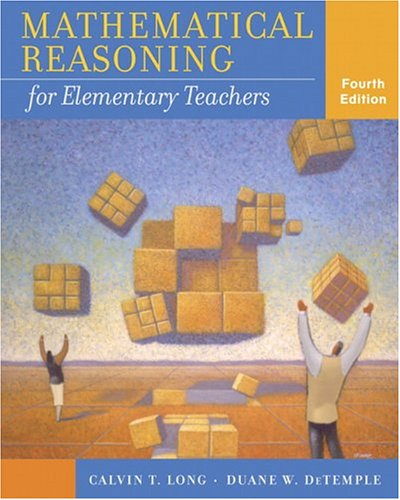 9780321286963: Mathematical Reasoning for Elementary Teachers (4th Edition)