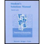 9780321287069: Student Solutions Manual for Statistical Reasoning for Everyday Life