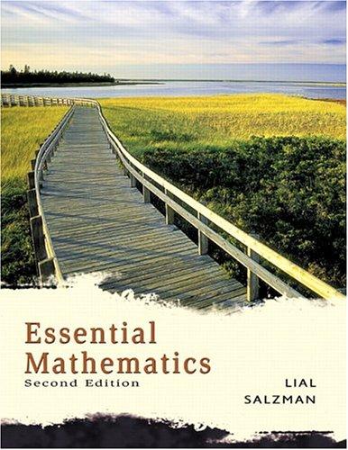9780321287427: Essential Mathematics (2nd Edition)
