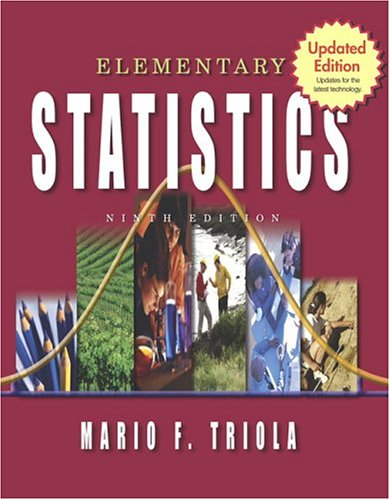 9780321288394: Elementary Statistics: Updates for the latest technology, 9th Updated Edition