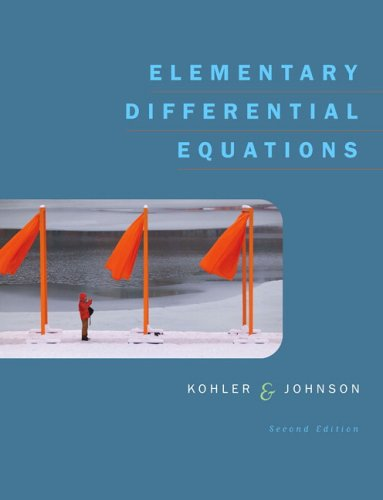 9780321290441: Elementary Differential Equations (2nd Edition)