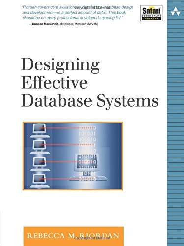 9780321290939: Designing Effective Database Systems