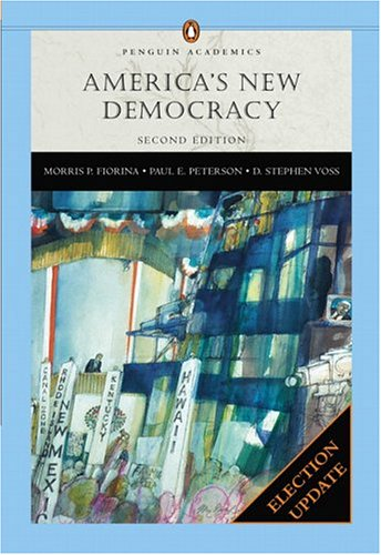 9780321291547: America's New Democracy (Penguin), Election Update (2nd Edition) (Penguin Academic)