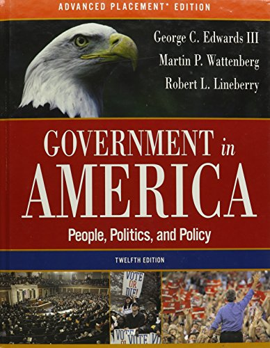 9780321292360: Government in America: People, Politics, and Policy