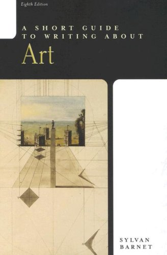9780321292483: A Short Guide to Writing About Art