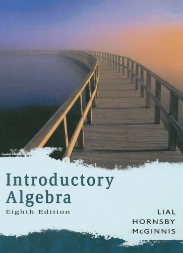 9780321292742: Introductory Algebra