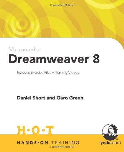 9780321293893: Macromedia Dreamweaver 8 Hands-On Training