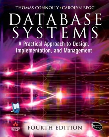 9780321294012: DataBase Systems: A Practical Approach to Design, Implementation and Management (4th Edition)