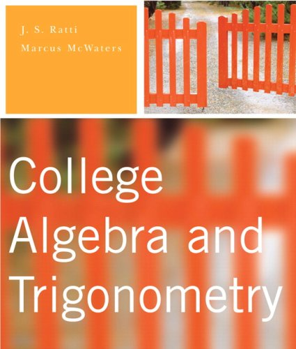 9780321296429: College Algebra and Trigonometry