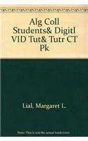 9780321303202: Alg Coll Students& Digitl VID Tut& Tutr CT Pk