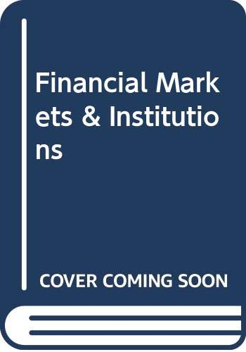 9780321303424: Financial Markets & Institutions