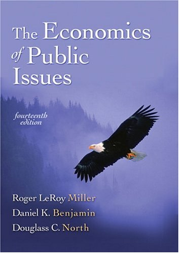 9780321303493: Economics of Public Issues, The (14th Edition)