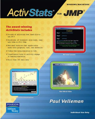 9780321303745: ActivStats for JMP