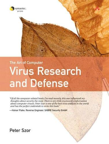 9780321304544: The art Of  Computer Virus Research And Defense