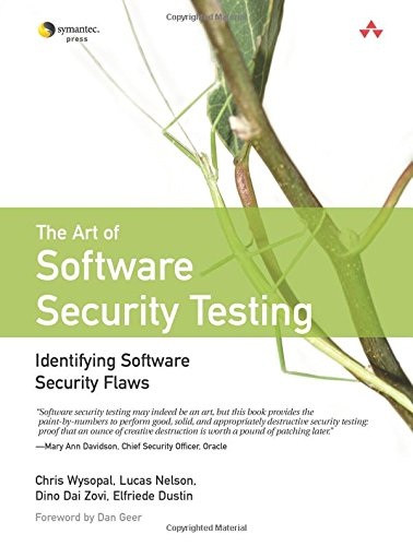 9780321304865: The Art of Software Security Testing: Identifying Software Security Flaws