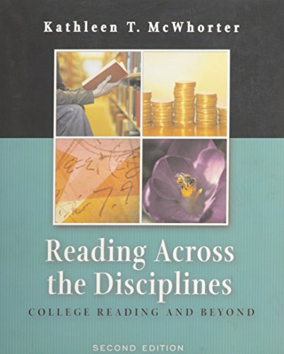 9780321305480: Reading Across the Disciplines: College Reading and Beyond, Second Edition (Skill Lab and Active Vocabulary + CD-ROM)