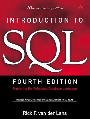 9780321305961: Introduction to SQL: Mastering the Relational Database Language (4th Edition)