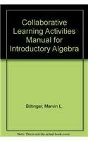 Collaborative Learning Activities Manual for Introductory Algebra: Marvin L. Bittinger